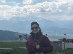 Views of the Austrian Alps from Mt. Gaisberg