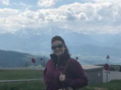 Views of the Austrian Alps from Mt. Gaisberg